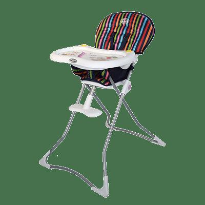 صندلی غذاخوری کودک راه راه رنگی
